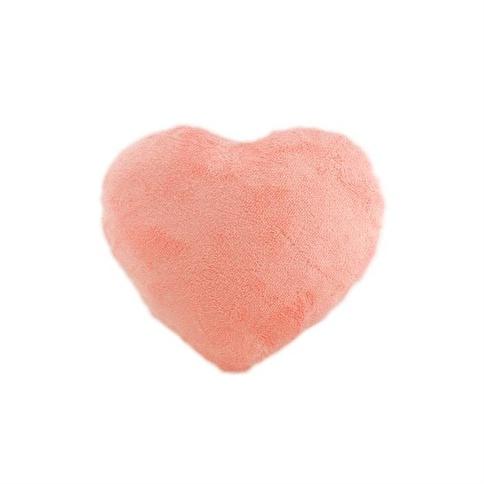Armerya Kalp Peluş Yastık 18 Cm Renkli